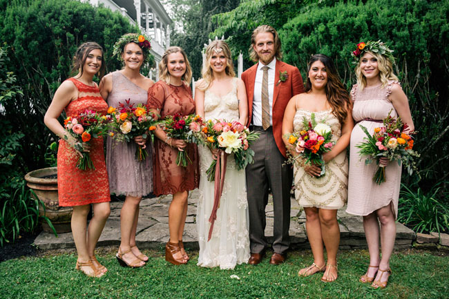 Fall Inspired Wedding