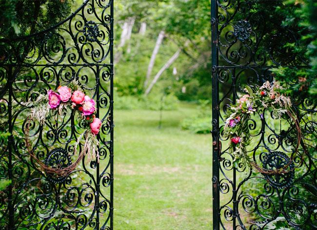 gate wreaths