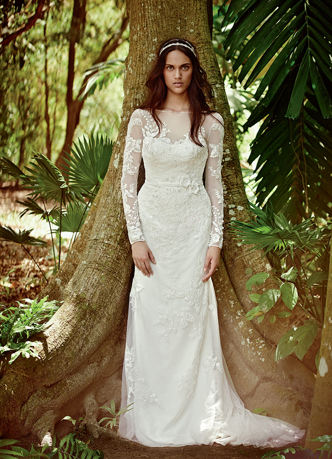 e0f44e650858 Romantic Wedding Dresses from Melissa Sweet for David's Bridal ...