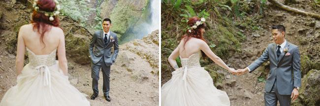 Fairytale Waterfall Elopement