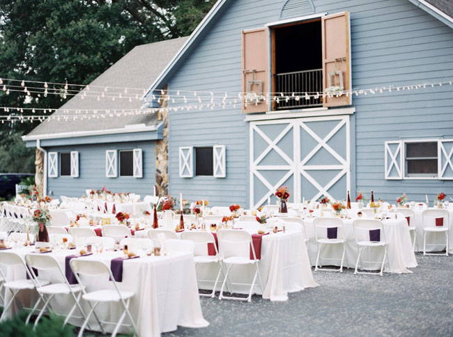 Fall Inspired Barn Wedding