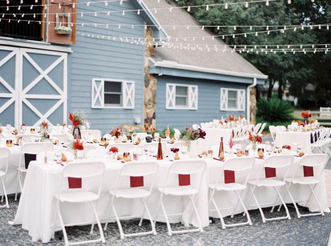 Fall Inspired Barn Wedding