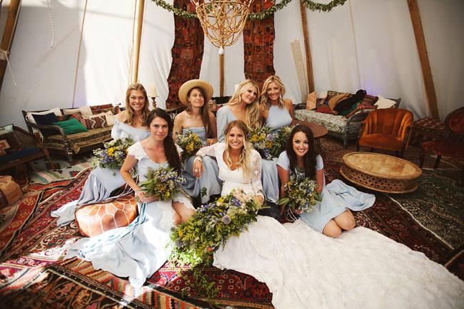 Festival Bridesmaids