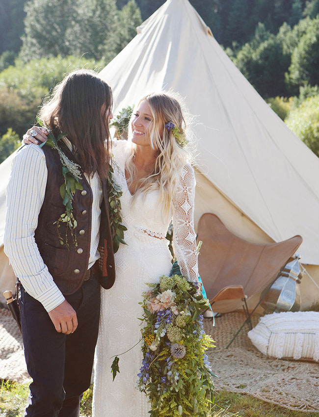 California Festival Wedding: Brit + Jeff