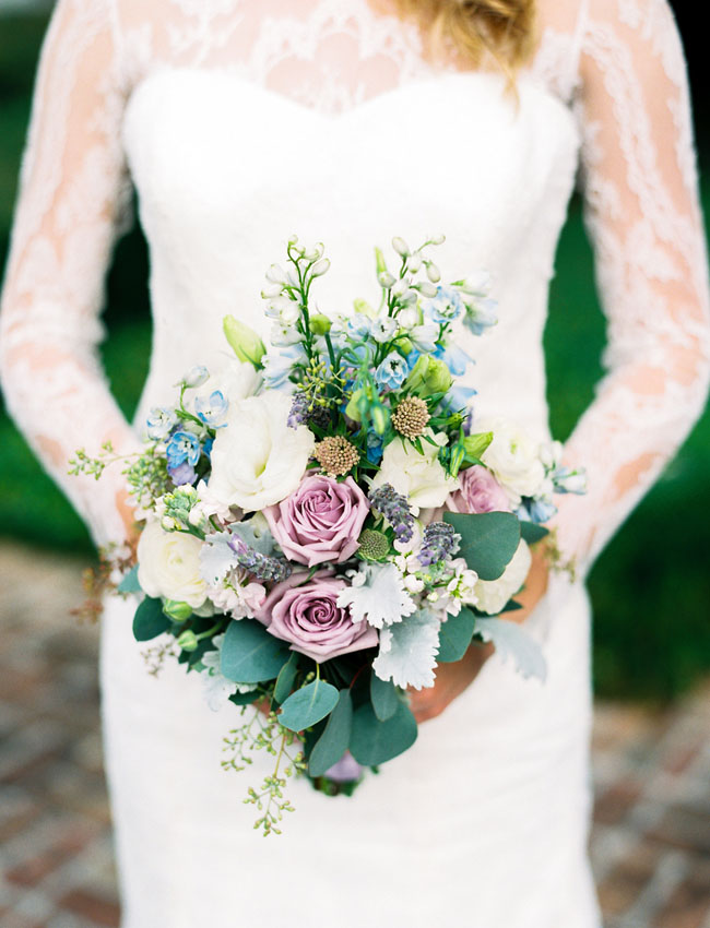 French Blue Bouquet