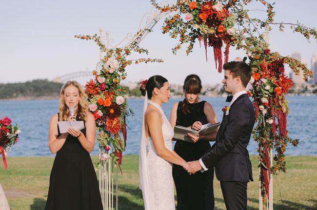 Hunters Hill Wedding