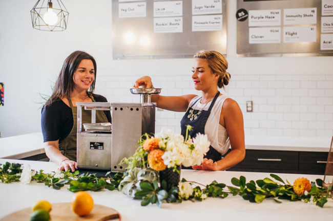 Juice Bar Bachelorette
