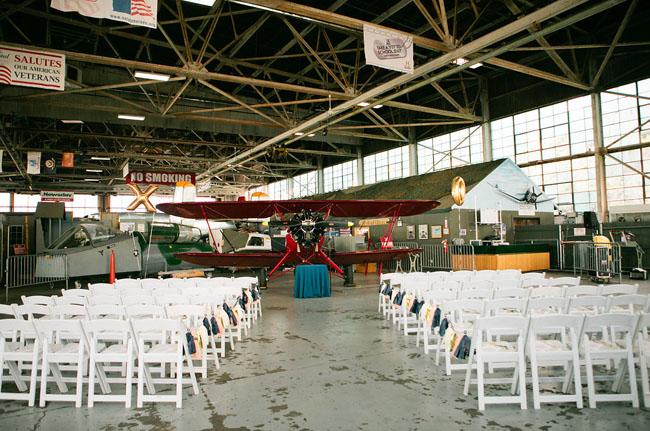 Air Museum Wedding