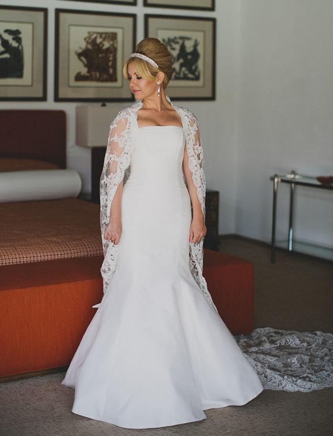 Mad Men Designer Wedding Dress