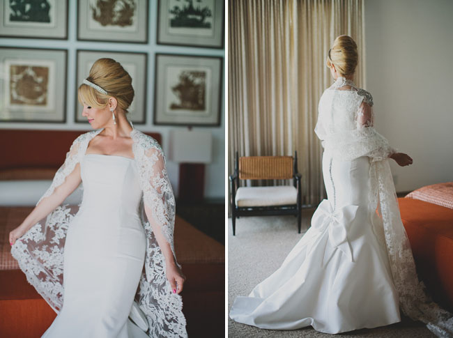 Mad Men Designer Wedding Dress