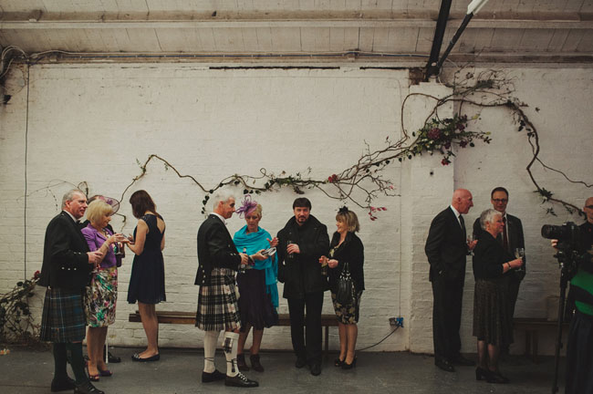 Scottish Warehouse Wedding