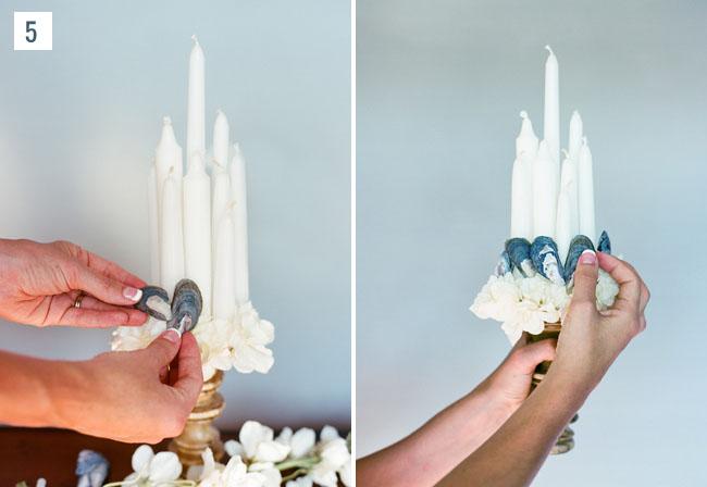 DIY Candle Bouquet