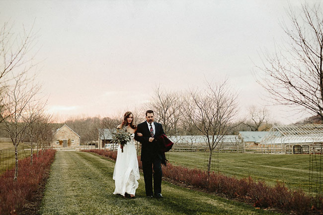 Sunset Anthropologie Inspired Wedding