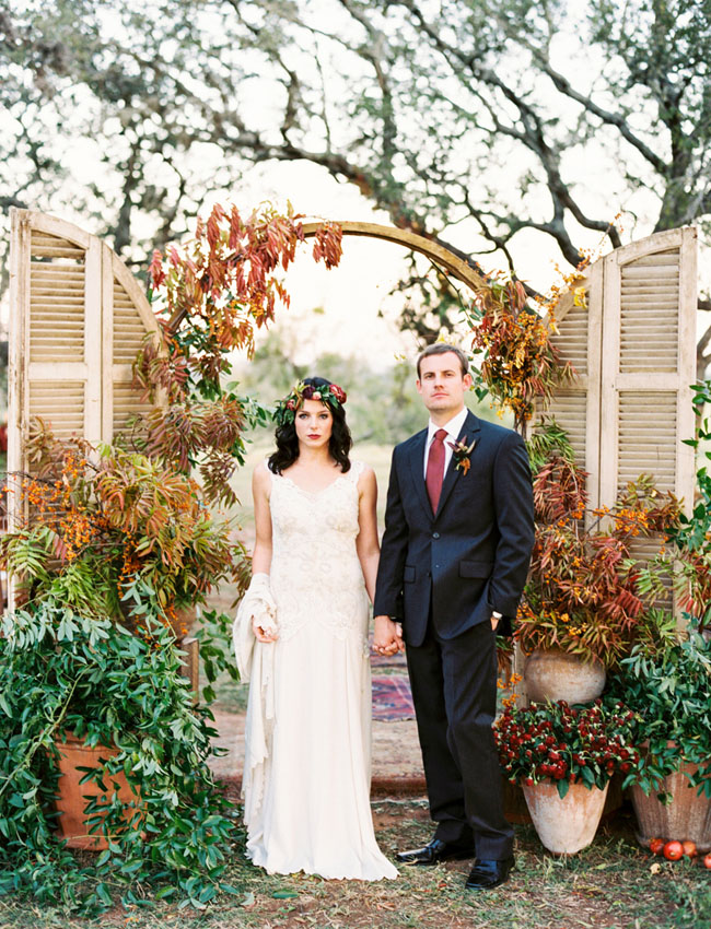 Bohemian Fall Wedding In Texas Hill Country Caitlin