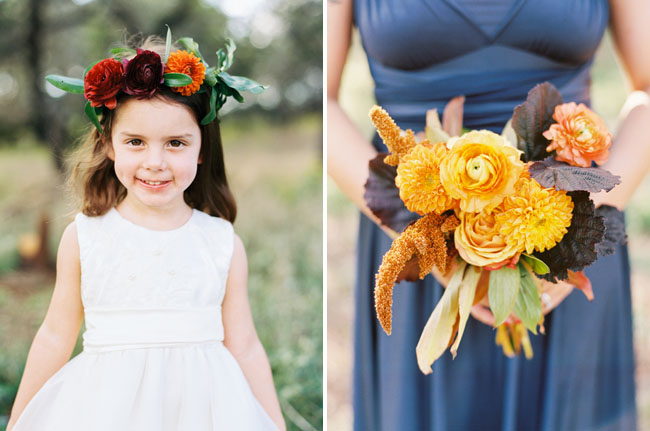 Fall Flower Girl