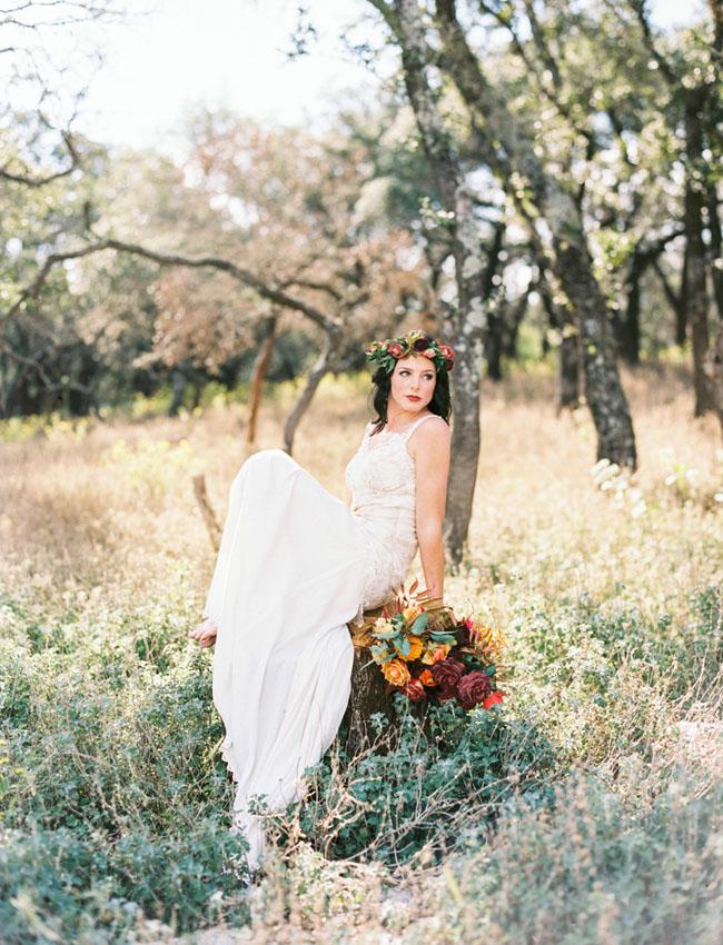 Texas Fall Inspired Wedding