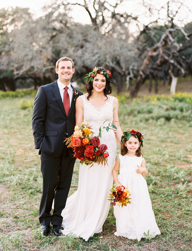 Texas Fall Inspired Wedding