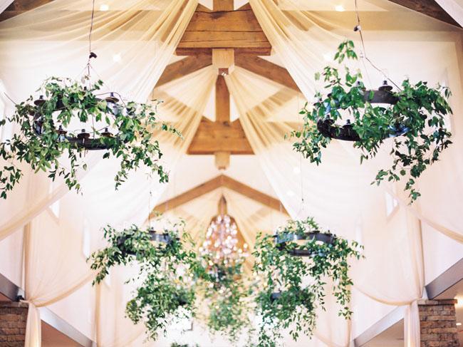 garland chandelier