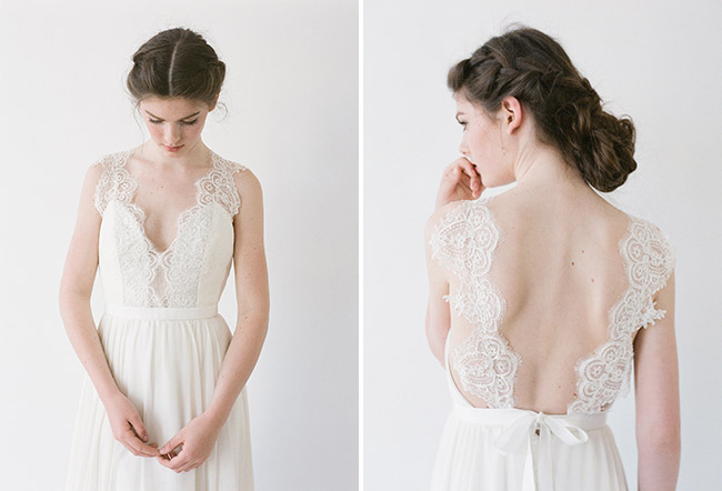truvelle lace gown