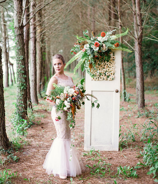 Wedding Ideas And Inspirations: Whimsical Woodland Wedding Inspiration