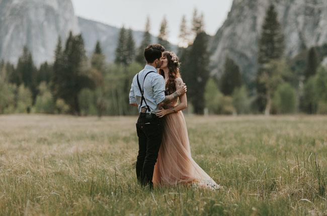 Romantic Yosemite Elopement