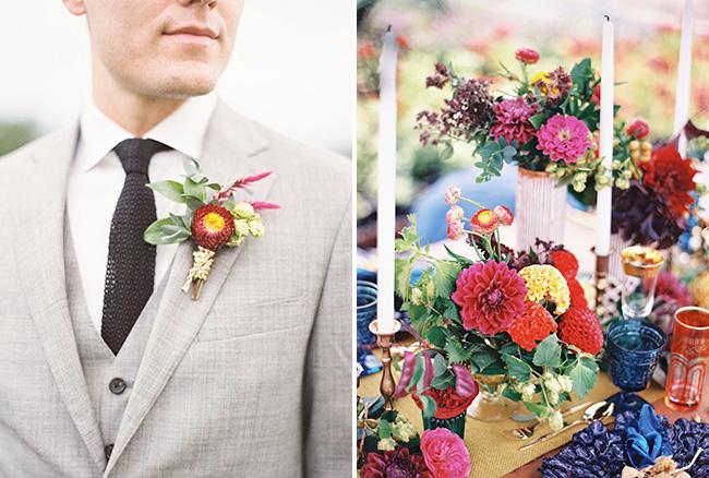 Boho Floral Details