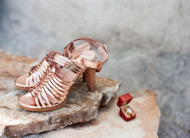 copper heels