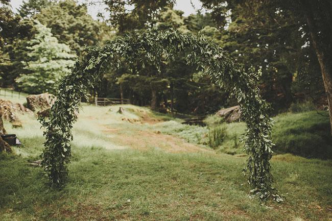 rustic new zealand backyard wedding sophia benjamin green wedding