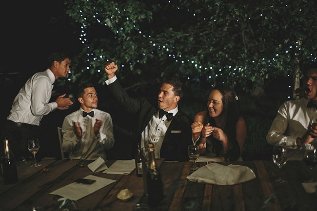 New Zealand Backyard Wedding