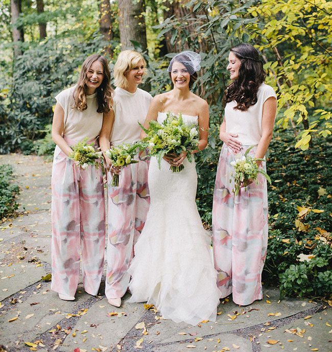 Floral Pant Bridesmaids
