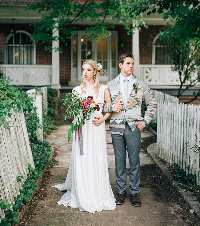 Bohemian Fall Wedding Inspiration