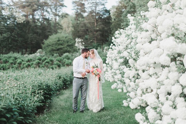 We Weren T Kidding About That Bouquet It S So Pretty Looks Perfect With Lace Gown From Blush Bridal Boutique