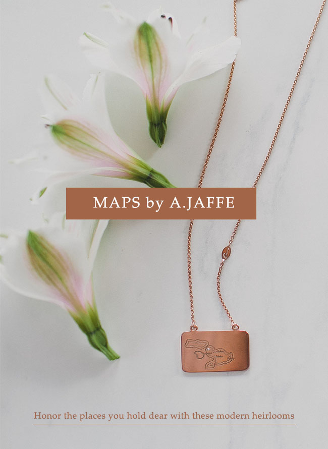 Maps by A.JAFFE necklace