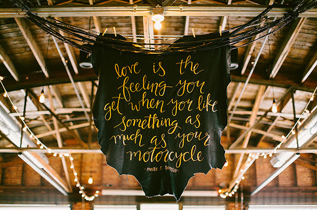 leather quote