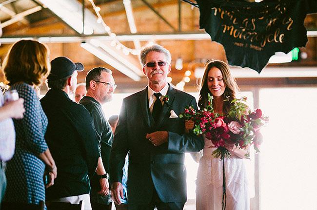 Moto Inspired Wedding