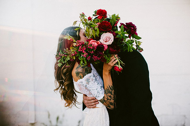 Moto Inspired Wedding
