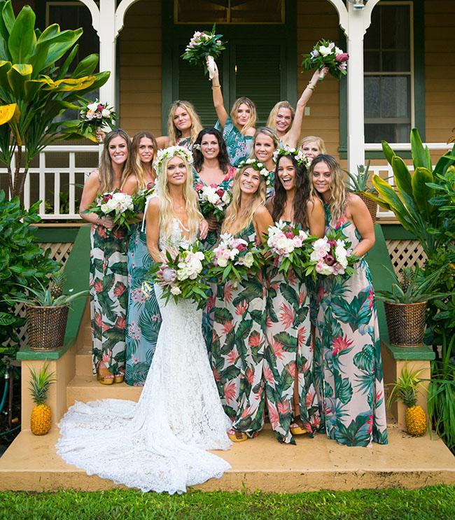 Hawaiian Beach Wedding Dresses: The New Show Me Your Mumu Bridesmaid Dress Collection