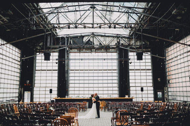 Ohio Warehouse Wedding