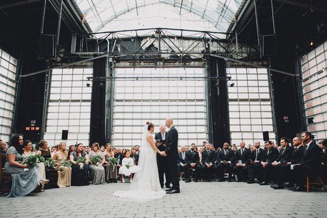 Ohio Warehouse Wedding