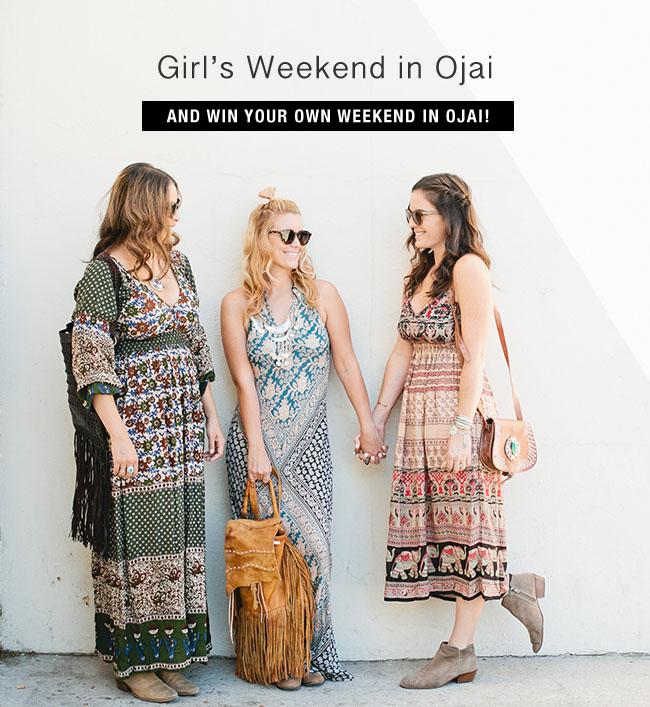 Ojai Girls Weekend