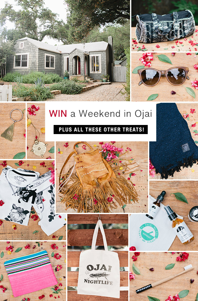 ojai weekend giveaway