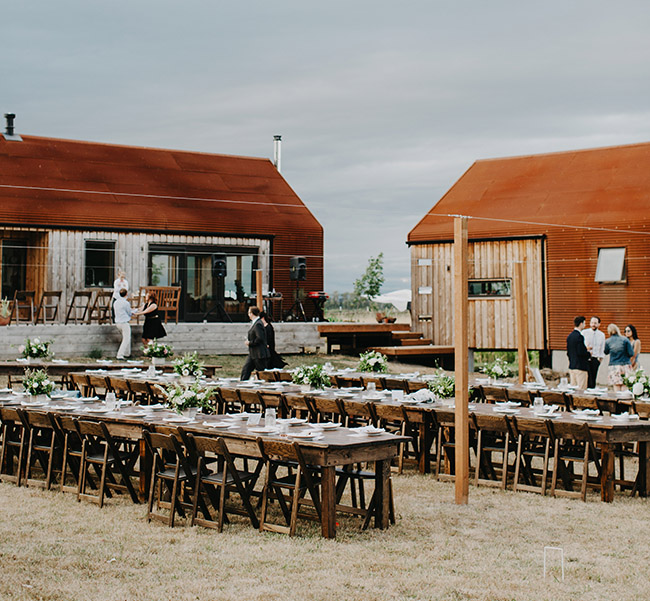 Rustic Sauvie Island Wedding: Summer + Patrick