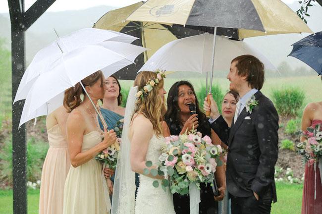 rainy ceremony