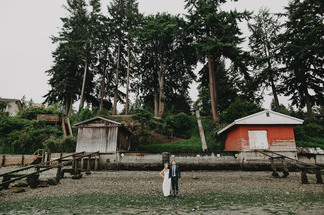 PNW Wedding in the Trees