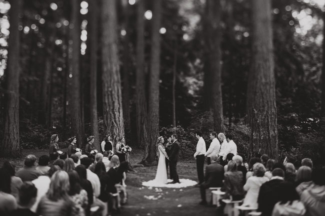Pnw Wedding In The Trees