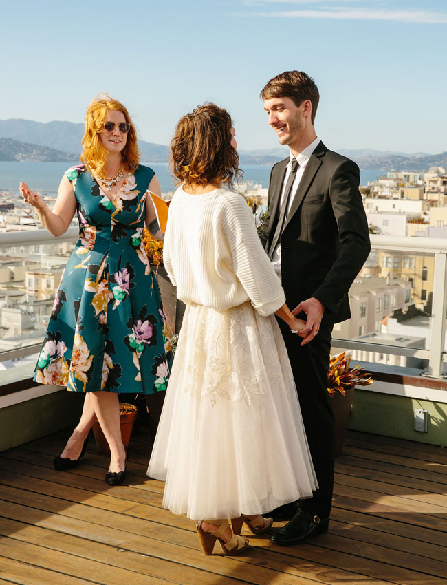 San Francisco Rooftop Wedding