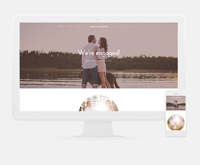 Create Your Own Wedding Website With Squarespace