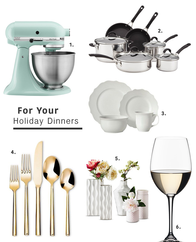 target registry for your holiday dinners