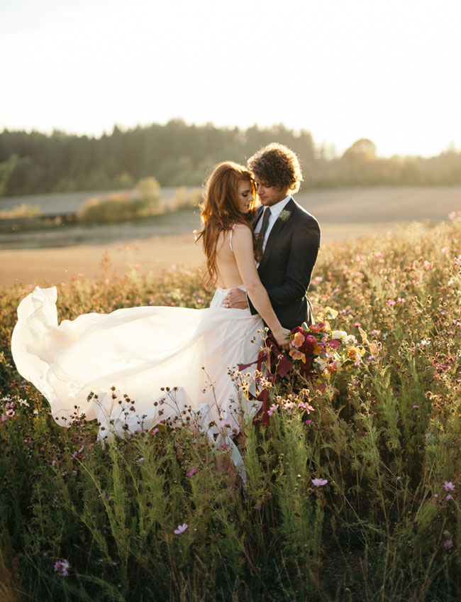 Audrey Jeremy Roloff Anniversary Photos Green Wedding