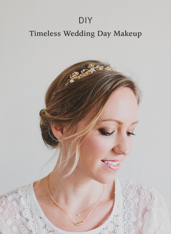 timeless wedding day makeup tutorial